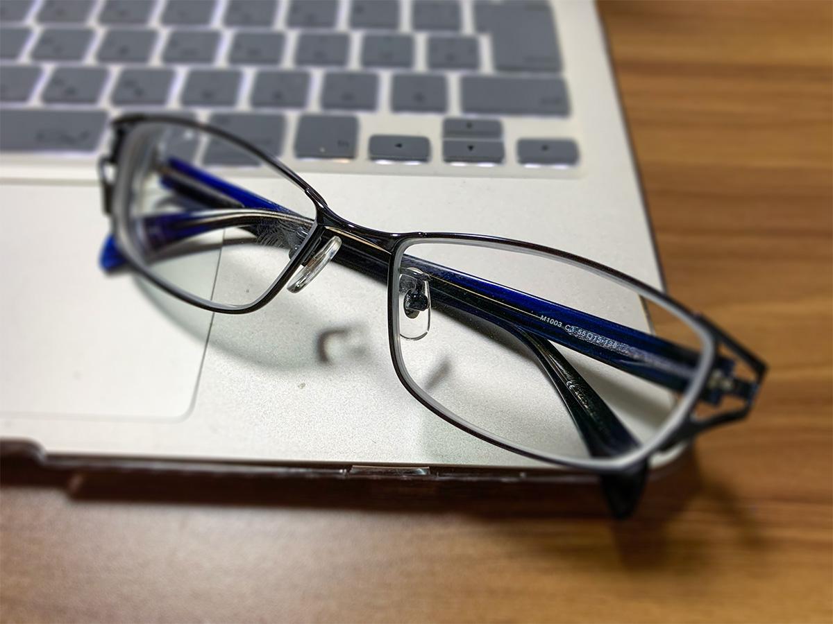 ドクターアイズ和歌山塩屋店で買ったメガネ